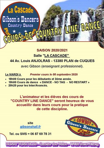 Country line dance plan de cuques